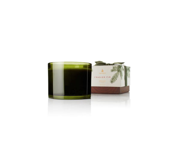 Frasier Fir 3-Wick Candle by Thymes | Fig Linens and Home