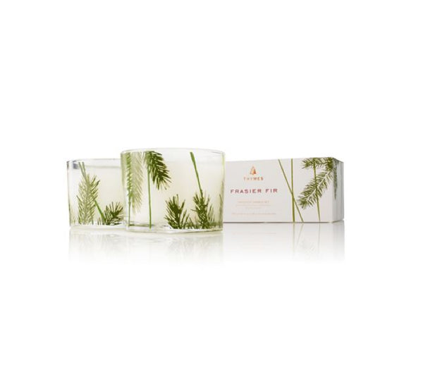 Frasier Fir Pine Needle Candle Set by Thymes | Fig Linens and Home