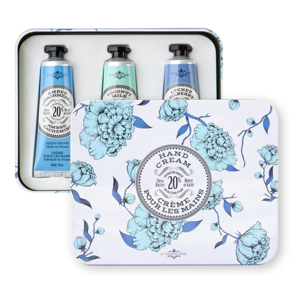 Hand Cream Gift Set - Deluxe 12 Hand Cream Tin | Fig Linens