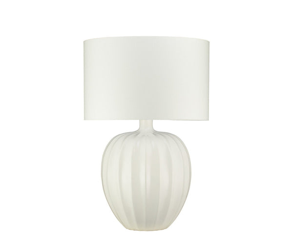Kristiana Chalk Table Lamp by William Yeoward | Fig Linens