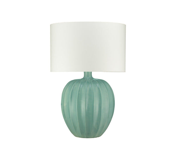 Kristiana Duck Egg Table Lamp by William Yeoward | Fig Linens