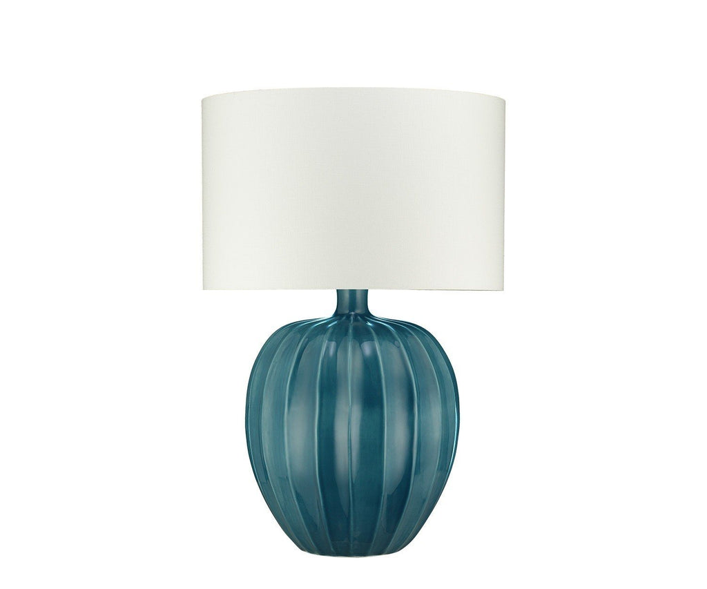 Kristiana Peacock Table Lamp by William Yeoward | Fig Linens