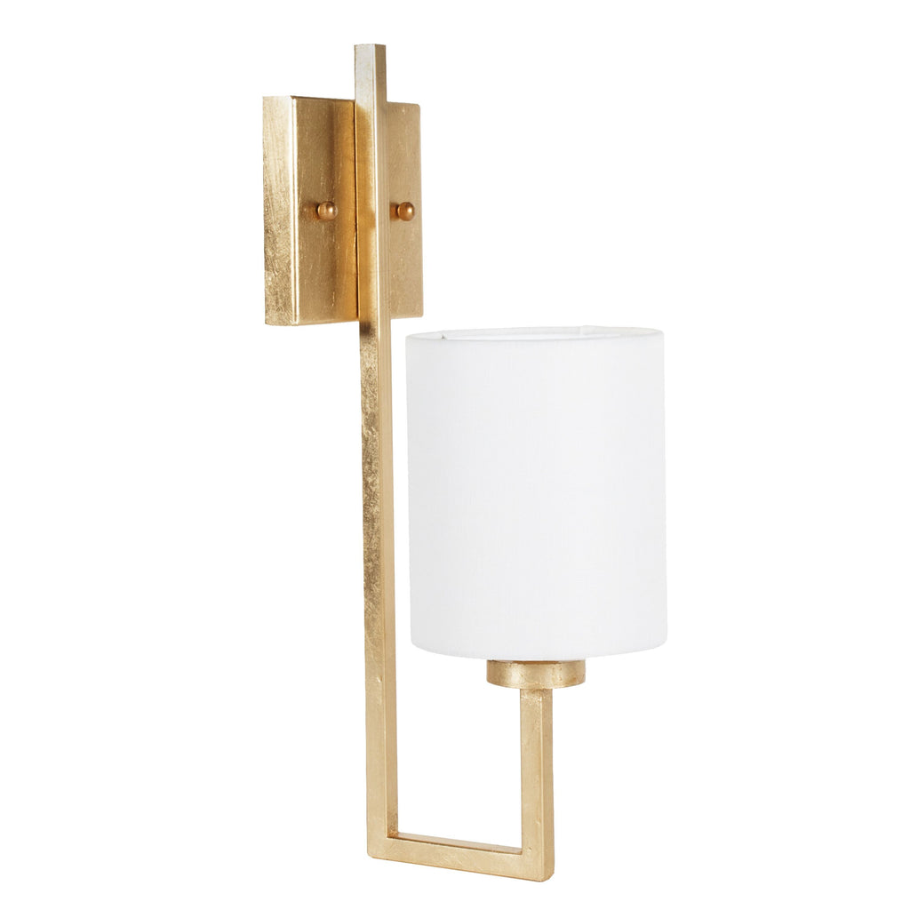 Beckham Gold Wall Sconce by Worlds Away | Fig Fine Linens and Home