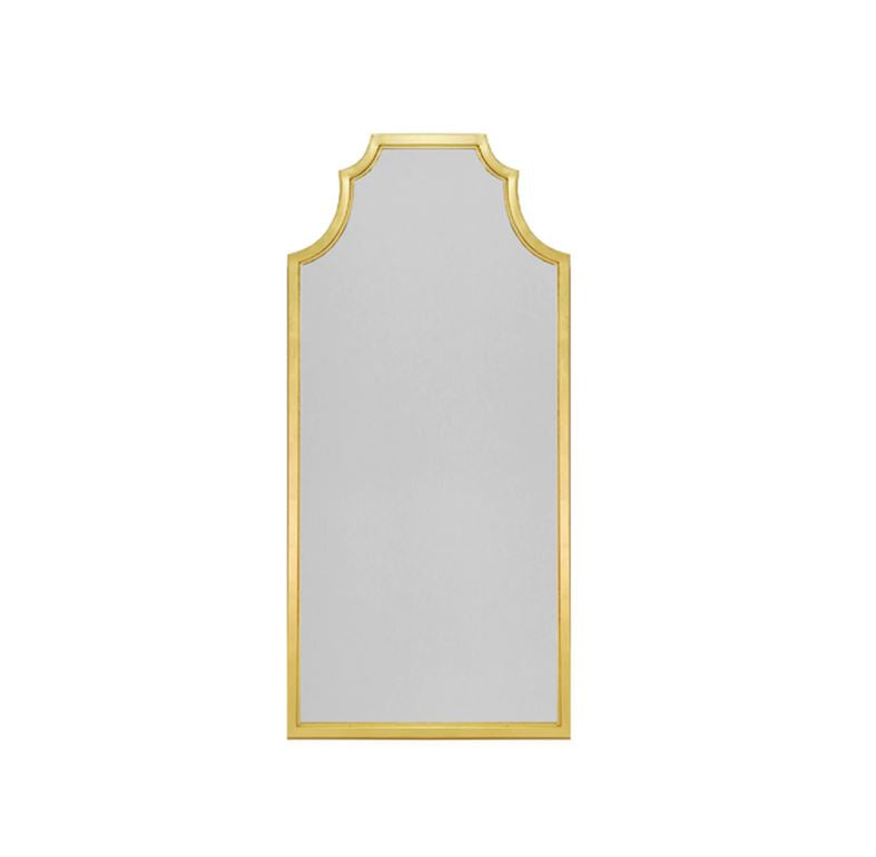 Finley Gold Pagoda Mirror by Worlds Away