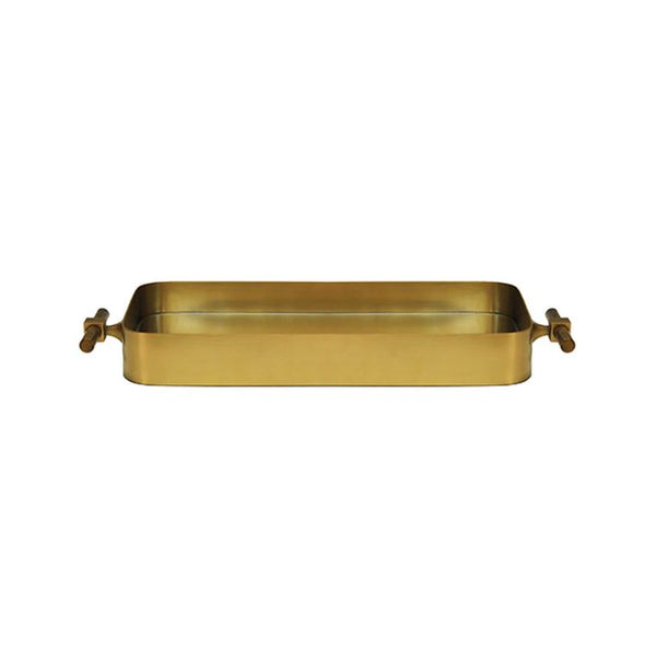 Klein Brass Tray by Worlds Away | Fig Linens and Home
