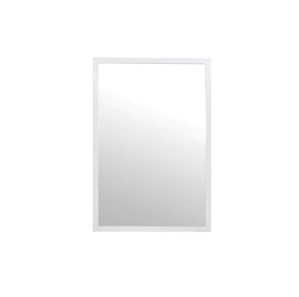 Lexi White Mirror by Worlds Away