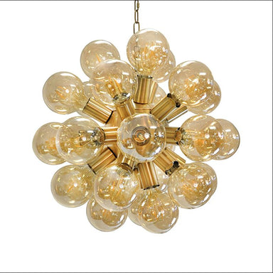 Glass Globe Chandelier by Worlds Away | Fig Linens and Home