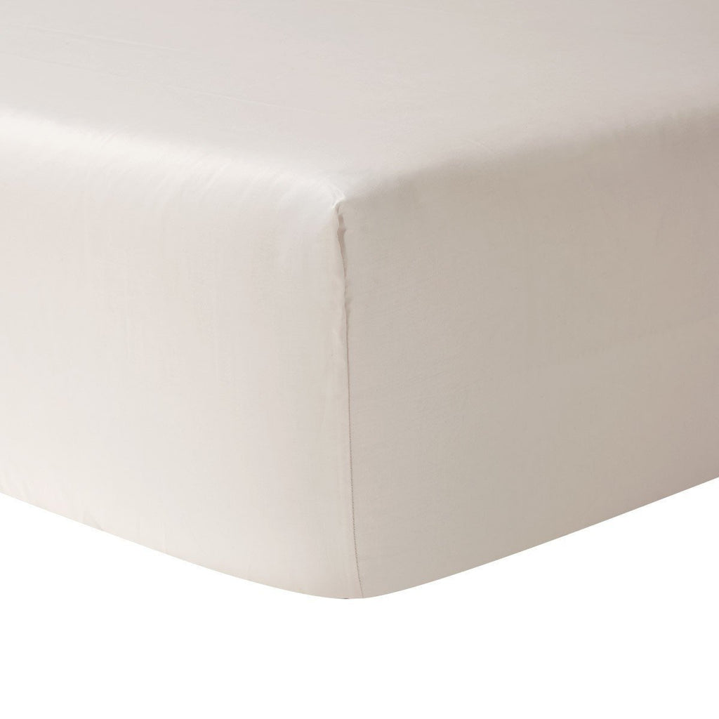 fig linens - yves delorme triomphe nacre fitted sheet
