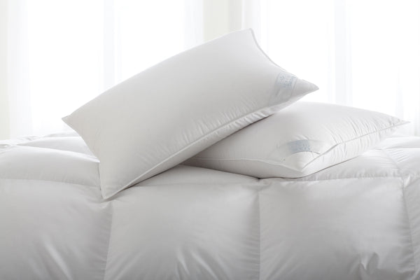 Scandia Luxury Bedding - Salzburg Down Comforter - Fig Linens