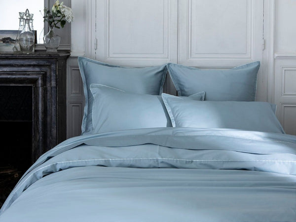 Fig Linens - Teo Baltic Blue Bedding by Alexandre Turpault