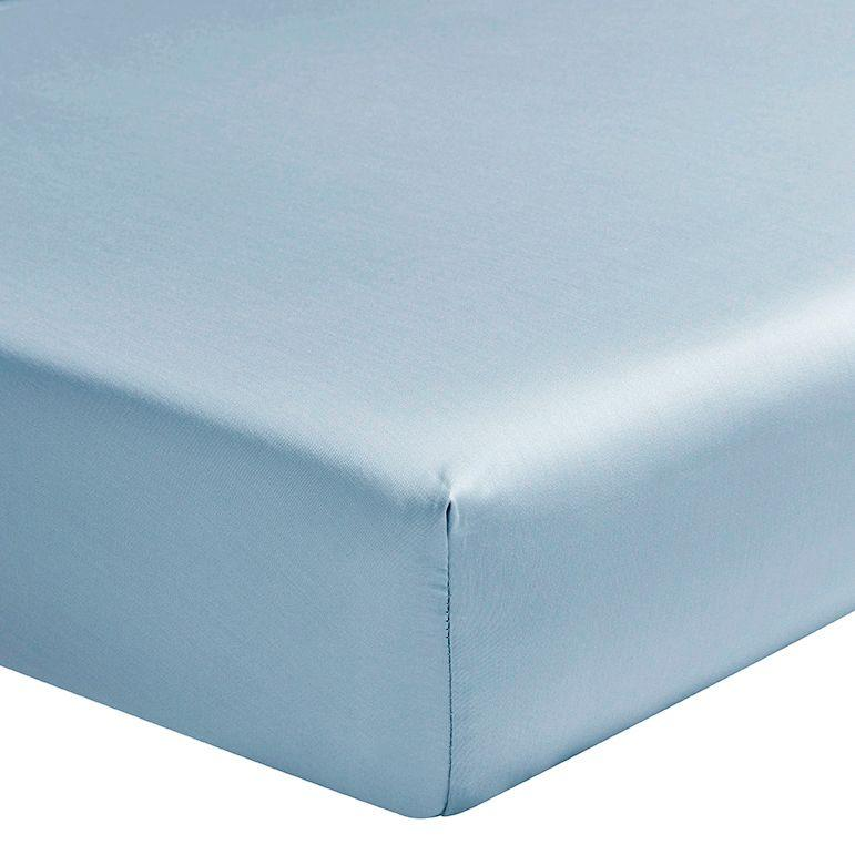 Fig Linens - Teo Baltic Blue Bedding by Alexandre Turpault - Fitted Sheet