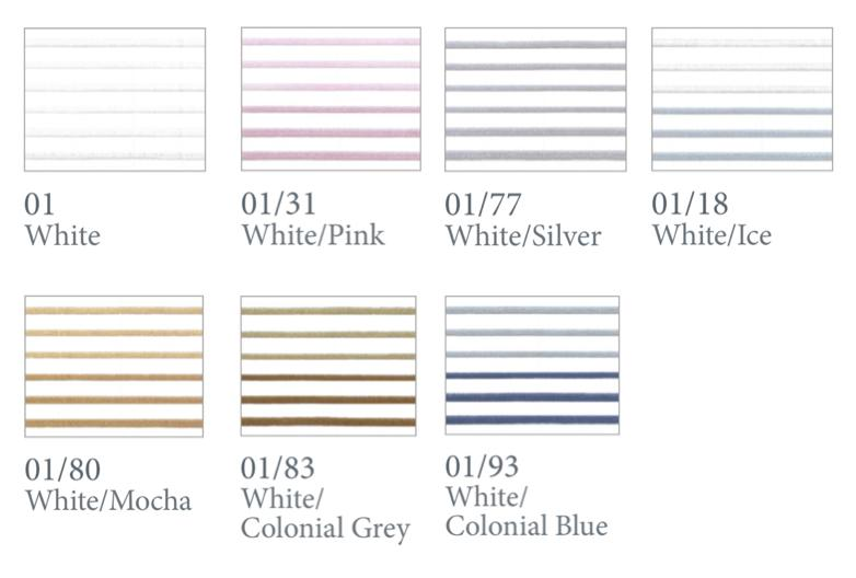 Fig Linens - Milano Bedding by Dea Linens - Thread colors