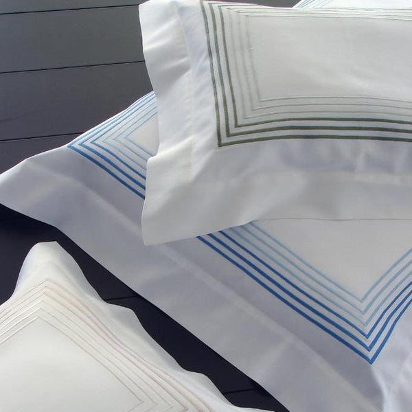 Fig Linens - Milano Embroidery Bedding by Dea Linens