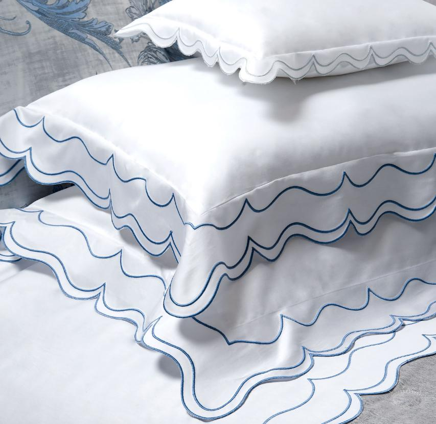 Fig Linens - Dea Linens - St. Malo Embroidered Bedding