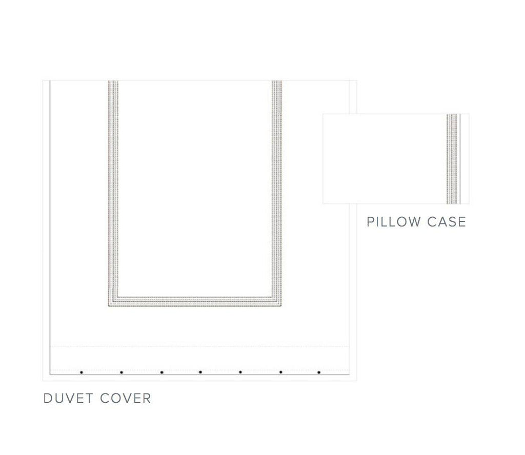 Fig Linens - Dea Fine Linens - Urban Bedding  - Duvet cover and cases