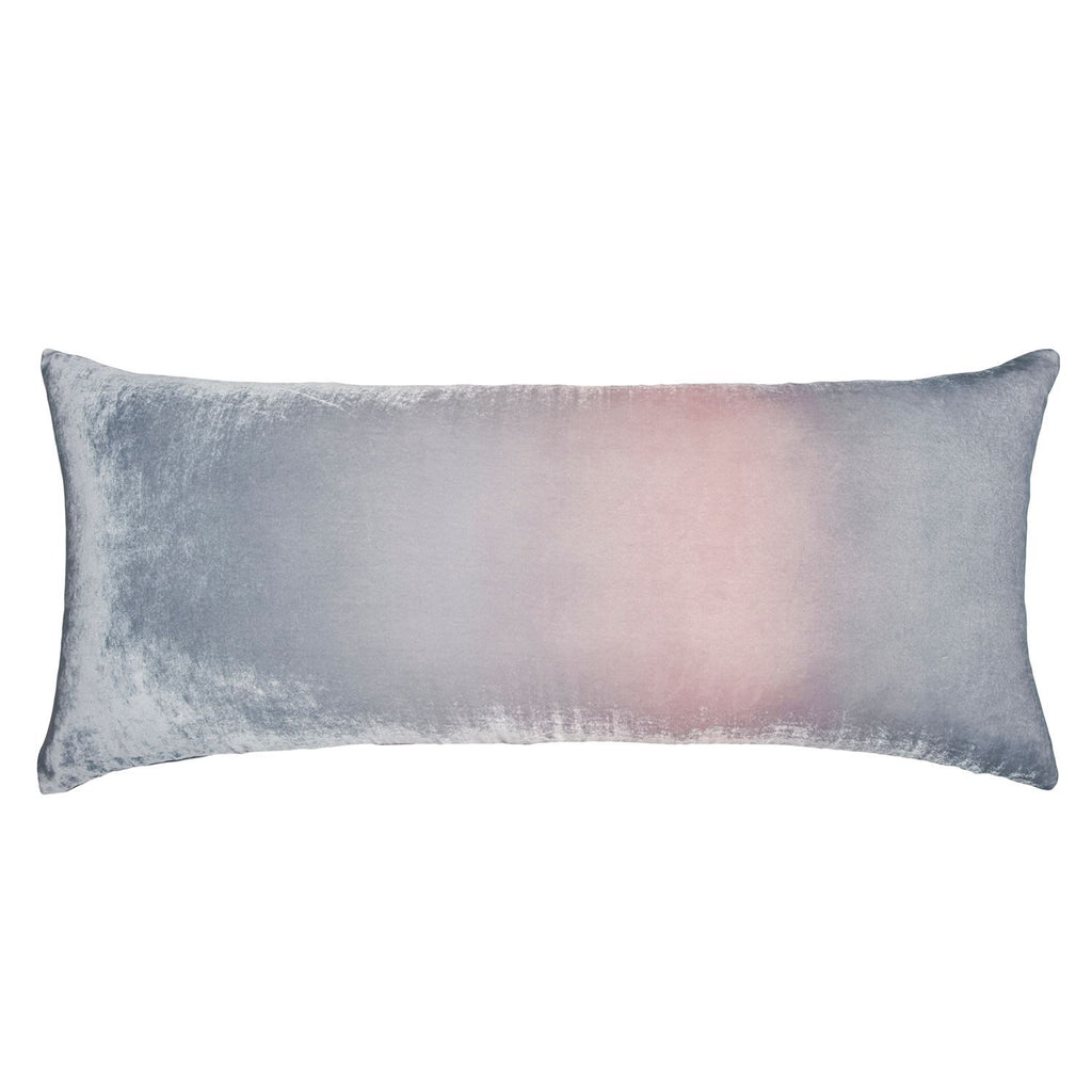 Moonstone Ombre Velvet Pillow by Kevin O'Brien Studio | Fig Linens
