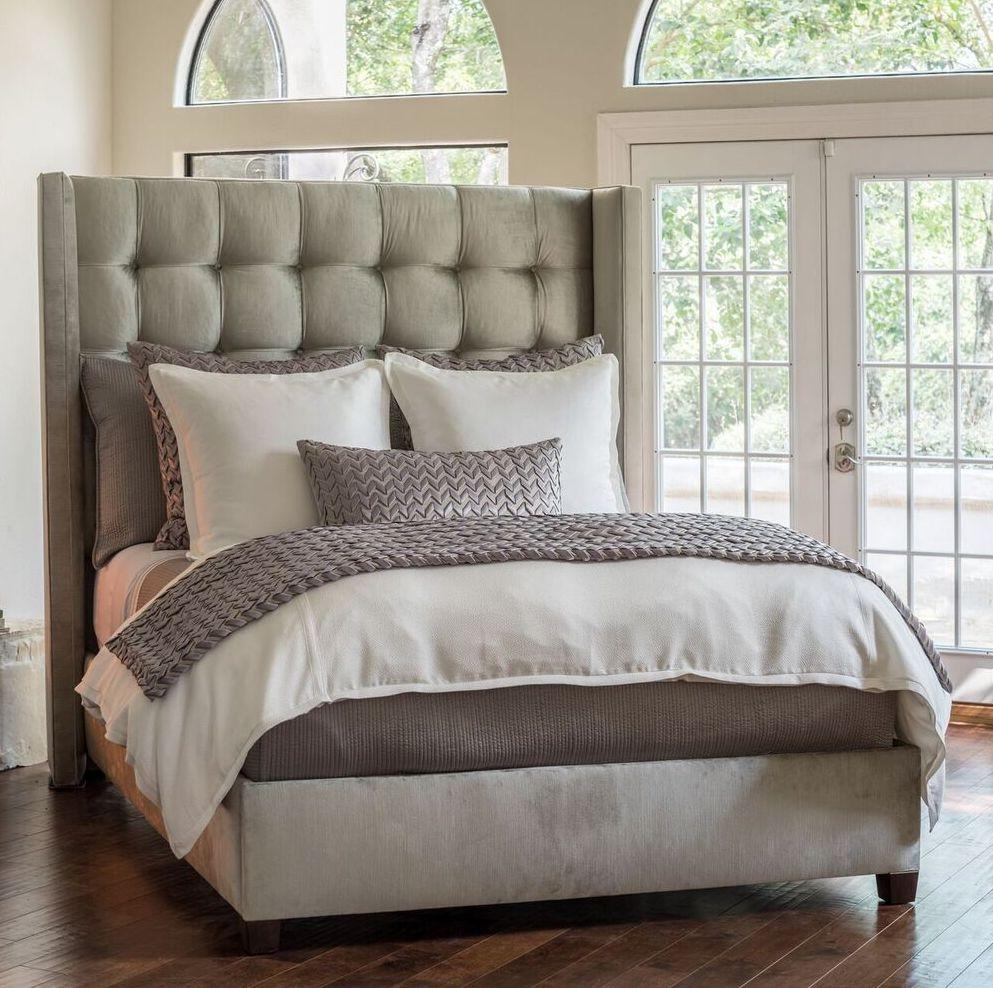 Lili Alessandra Gia Ivory Bedding - Fig Linens