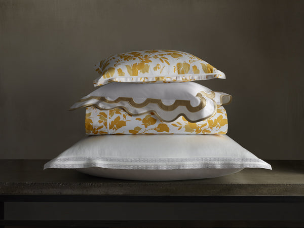 Alexandra Goldenrod Bedding | Lulu DK Matouk at Fig Linens