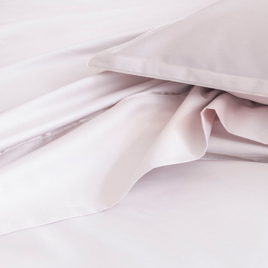 Fig Linens - Alexandre Turpault Bedding - Teo Pink Dew Bedding