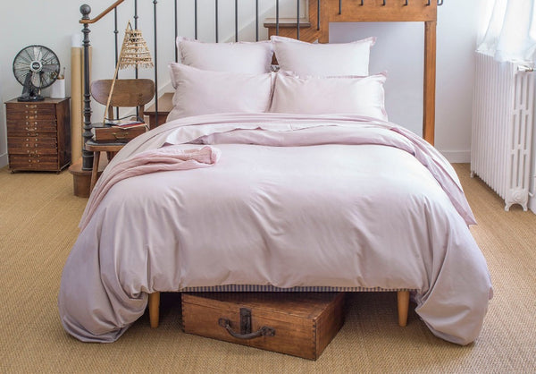 Teo Pink Dew Bedding by Alexandre Turpault | Fig Fine Linens and Home