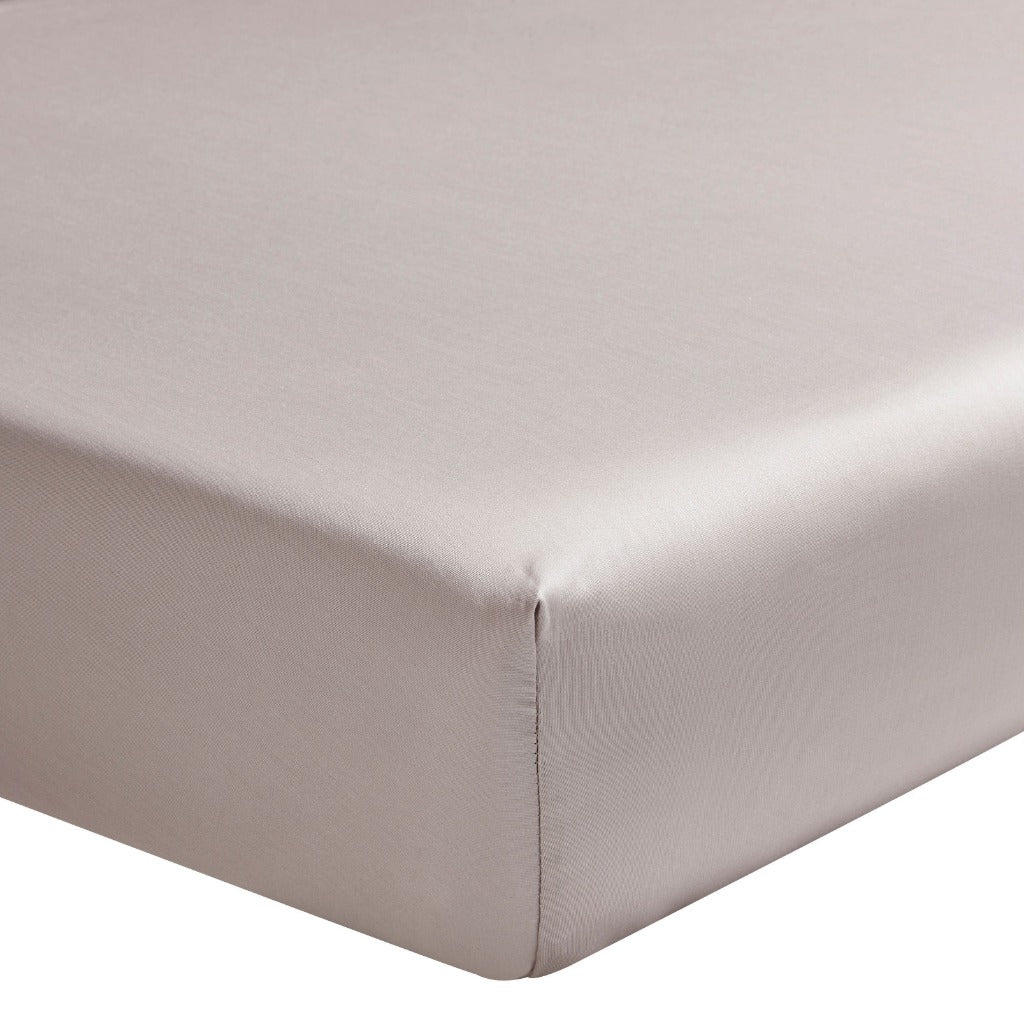 Fig Linens - Alexandre Turpault Bedding - Teo Pink Dew Fitted Sheet
