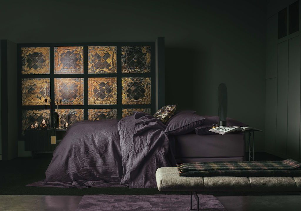 Nouvelle Vague Hellebore Bedding by Alexandre Turpault | Fig Linens