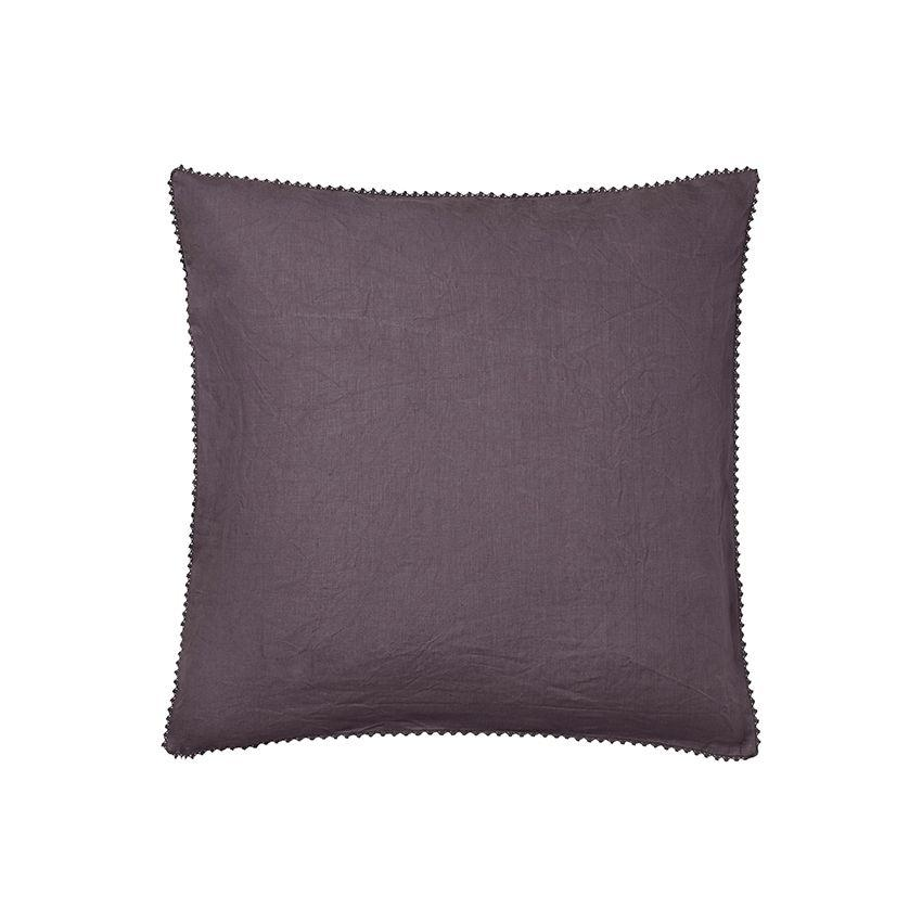 Fig Linens - Alexandre Turpault Bedding - Nouvelle Vague Purple Euro Sham