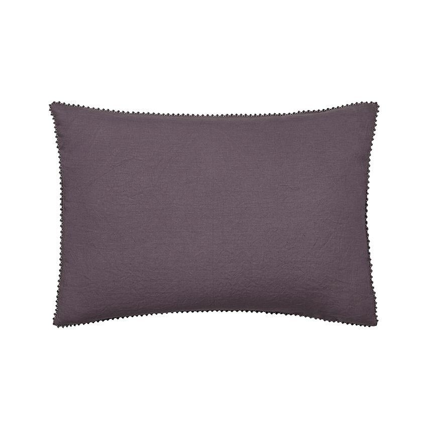 Fig Linens - Alexandre Turpault Bedding - Nouvelle Vague Purple Sham