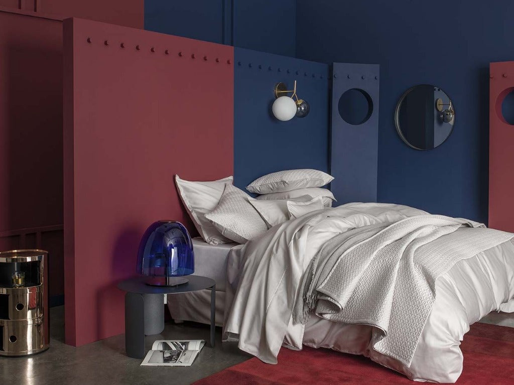 Teo Oyster Bedding by Alexandre Turpault