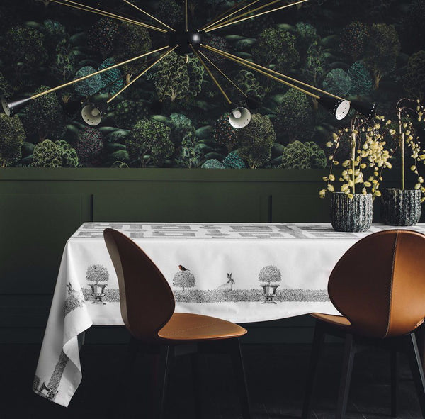 Charmille Tablecloth by Alexandre Turpault | Fig Linens and Home