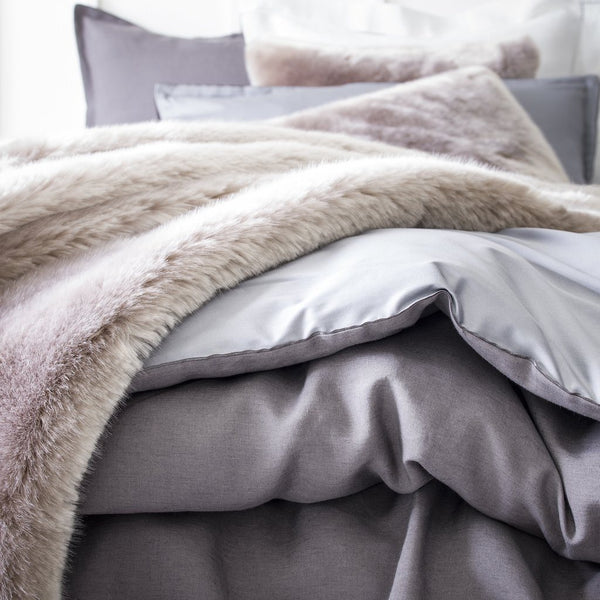 Tsarine Faux Fur Bedding Collection by Alexandre Turpault | Fig Linens