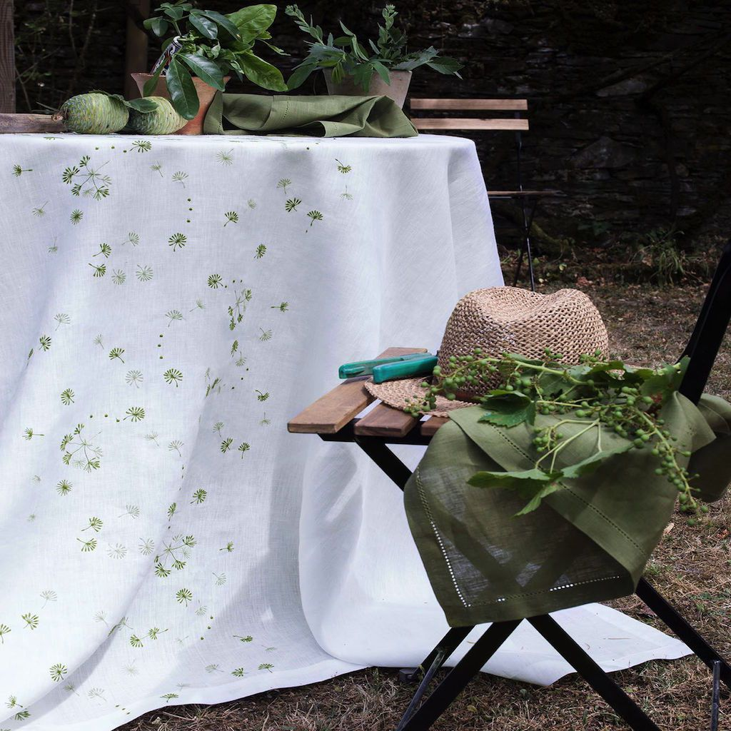 Éole Tablecloth by Alexandre Turpault | Fig Fine Linens and Home