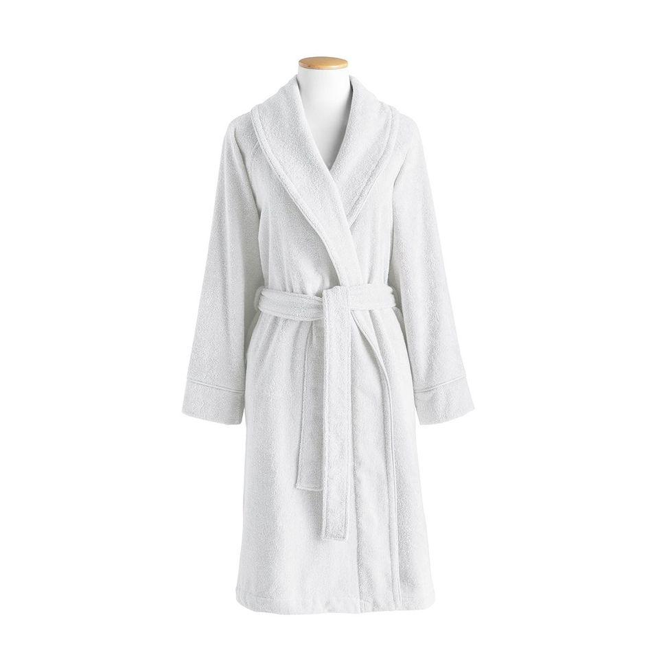 Ess-cale White Robe by Alexandre Turpault | Fig Linens and Home