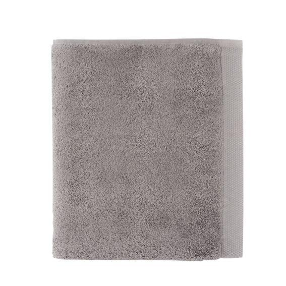 Essentiel Stone Grey Bath Towels by Alexandre Turpault | Fig Linens