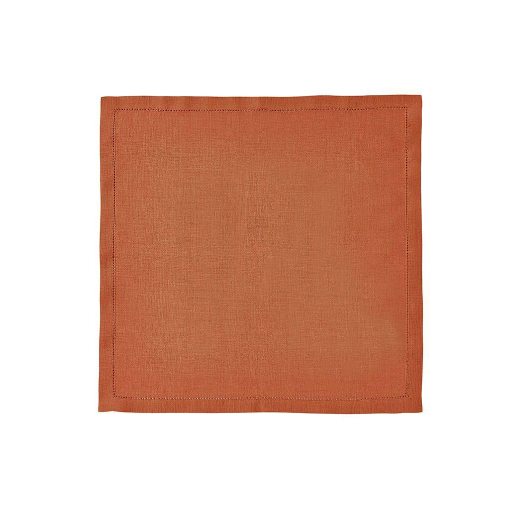 Fig Linens - Alexandre Turpault Table Linens - Florence Copper Napkin