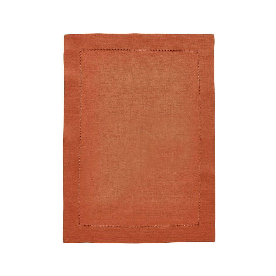 Fig Linens - Alexandre Turpault Table Linens - Florence Copper Placemat