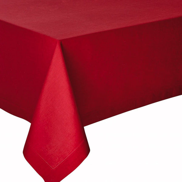 Fig Linens - Alexandre Turpault Table Linens - Florence Cranberry Tablecloth