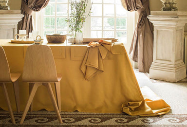 Florence Mimosa Table Linens by Alexandre Turpault | Fig Linens