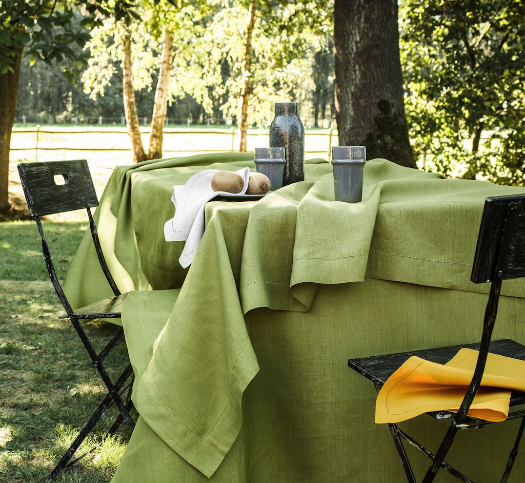 Florence Plane Tree Table Linens by Alexandre Turpault