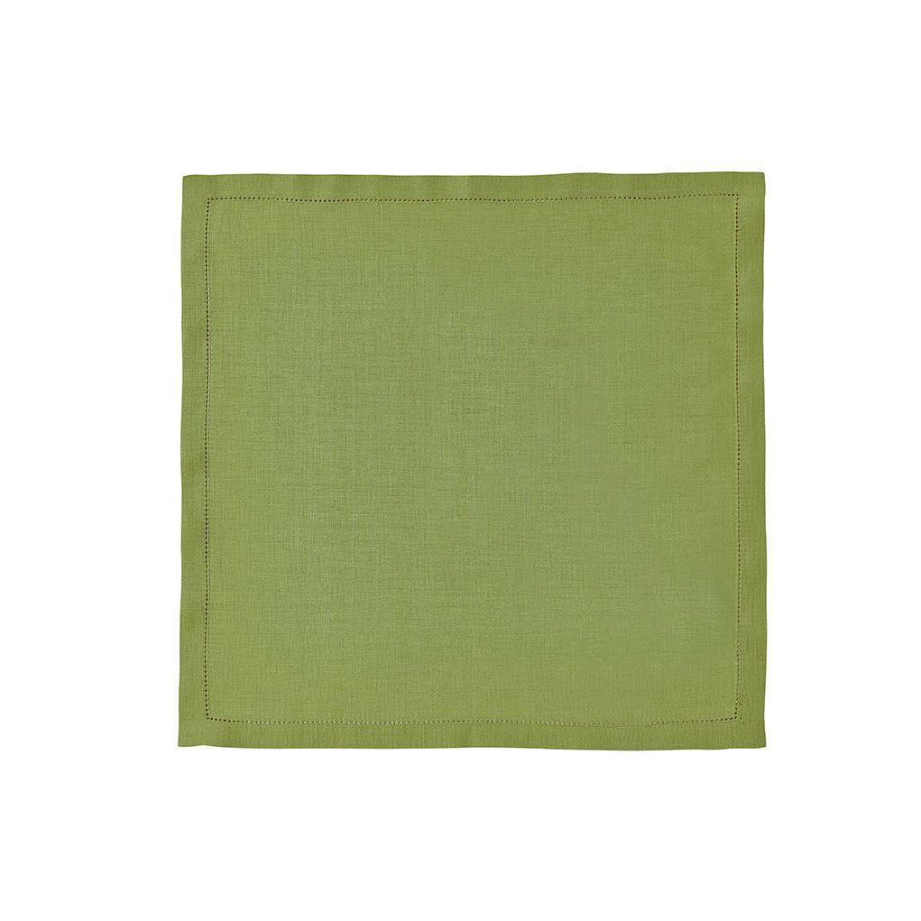 Fig Linens - Alexandre Turpault Table Linens - Florence Plane Tree Green Napkin
