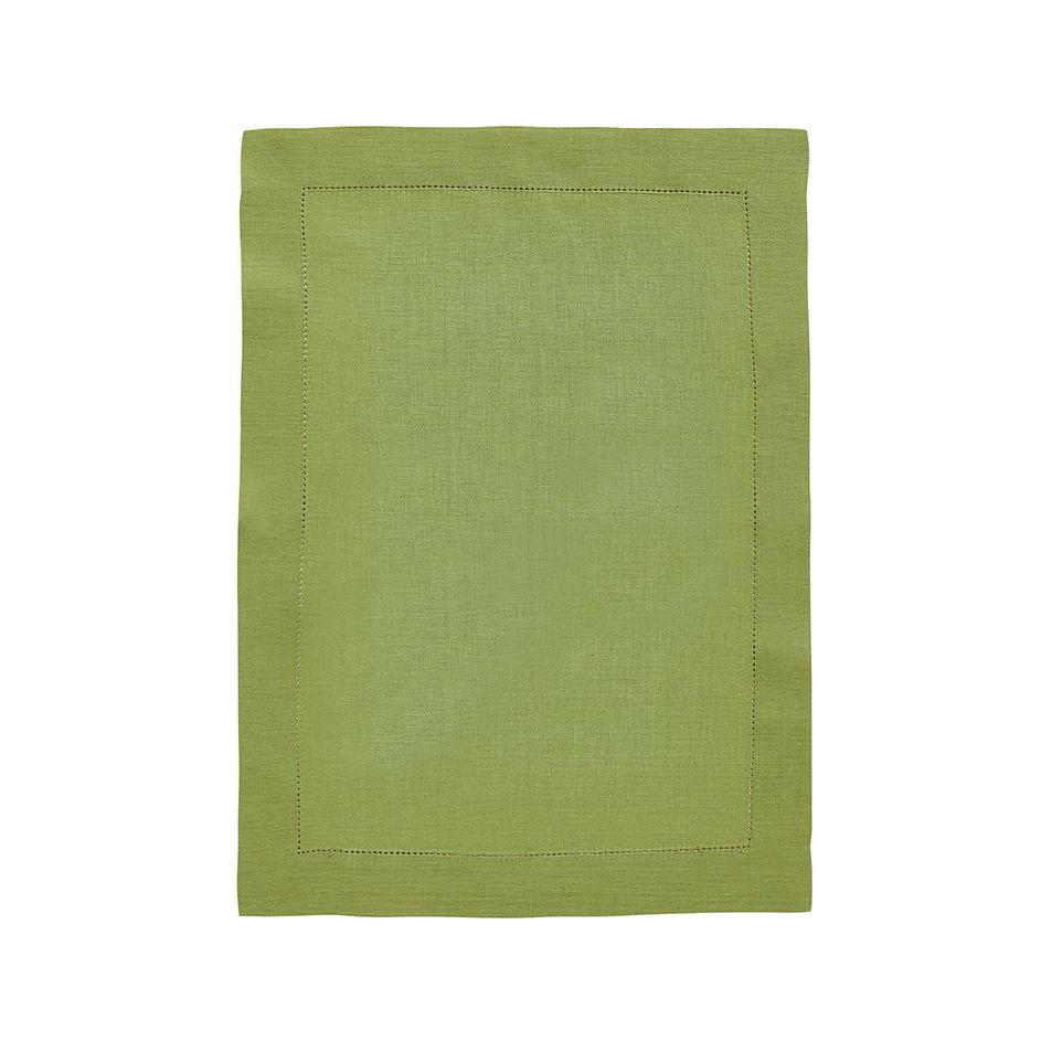 Fig Linens - Alexandre Turpault Table Linens - Florence Plane Tree Green Placemat