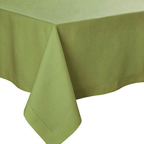 Fig Linens - Alexandre Turpault Table Linens - Florence Plane Tree Green Tablecloth