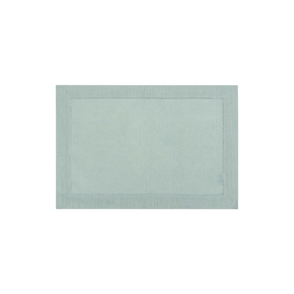 Fig Linens - Alexandre Turpault Table Linens - Florence Sage Green Placemat