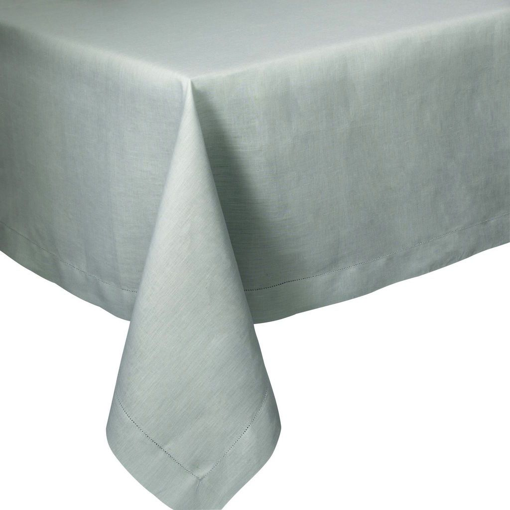 Fig Linens - Alexandre Turpault Table Linens - Florence Sage Green Tablecloth