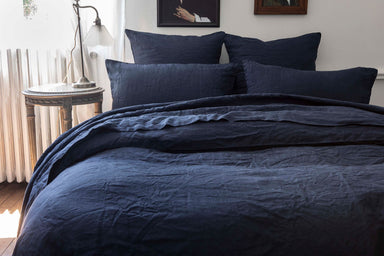 Nouvelle Vague Midnight Bedding by Alexandre Turpault | Fig Linens