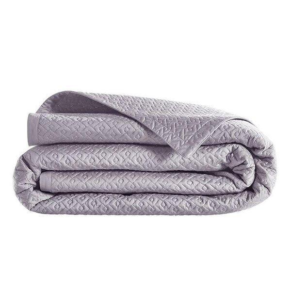 Fig Linens - Alexandre Turpault Bedding - Palace Sable Coverlet