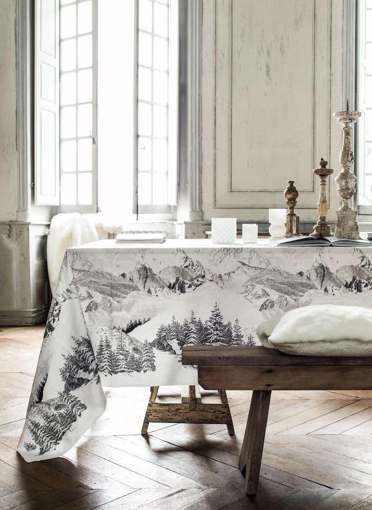 Là-Haut Tablecloth by Alexandre Turpault | Fig Linens