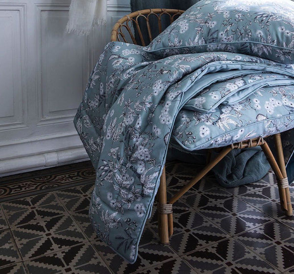 Le Chant du Monde Throw & Shams by Alexandre Turpault  - Fig Linens