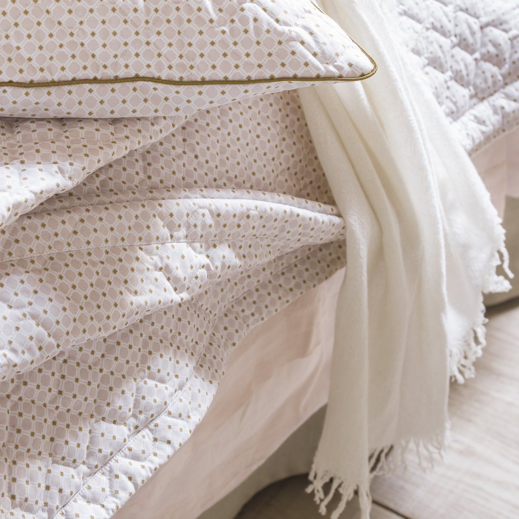 Lifestyle shot - Loulou Ermine Throw by Alexandre Turpault | Fig Linens and HOme