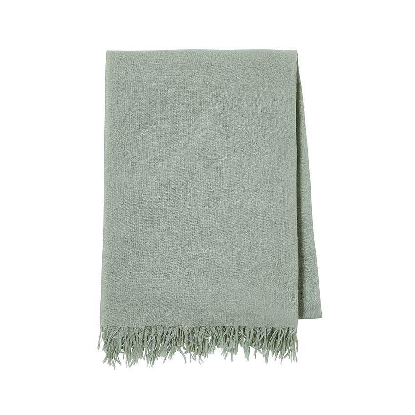 Loulou Eucalyptus Throw by Alexandre Turpault | Fig Linens and Home